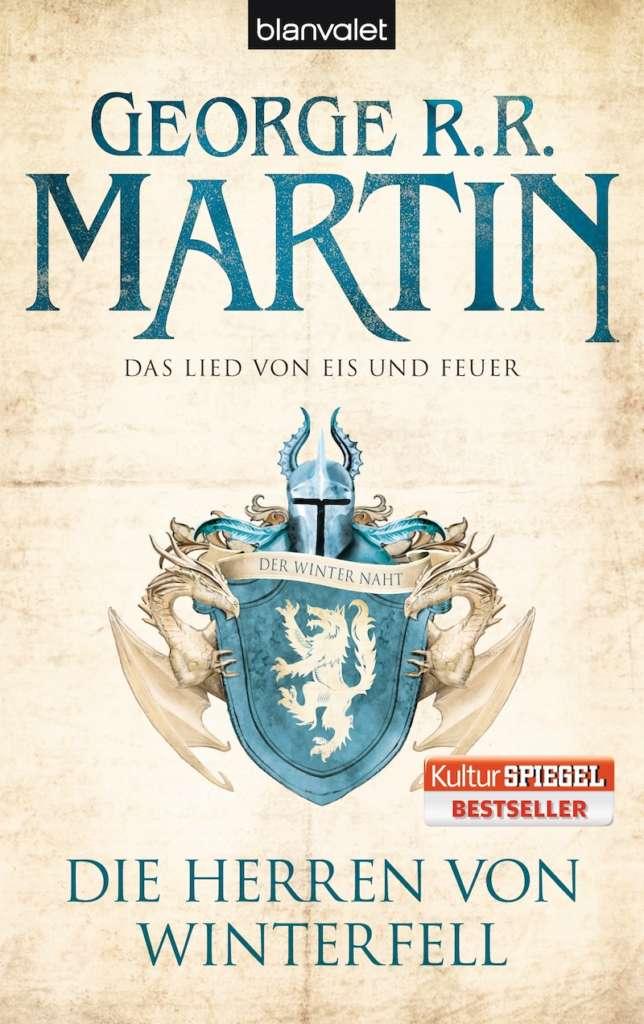 """Buchcover des ersten Bandes """"Das Lied von Eis und Feuer"""""""