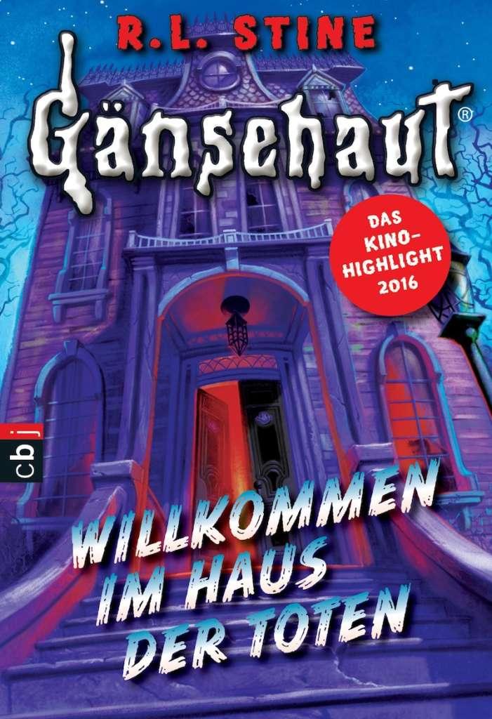 """Buchcover """"Gänsehaut. Willkommen im Haus der Toten"""""""