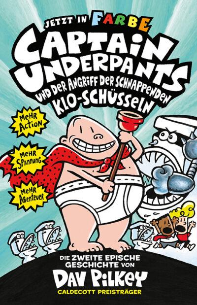 Buchcover Dav Pilkey Captain Underpants Band 1