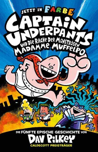Buchcover Captain Underpants Band 5