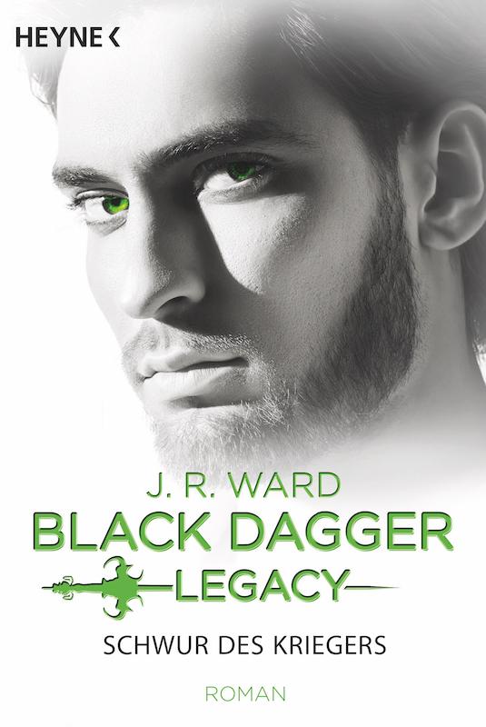 Buchcover J.R. Ward Schwur des Kriegers Black Dagger Legacy
