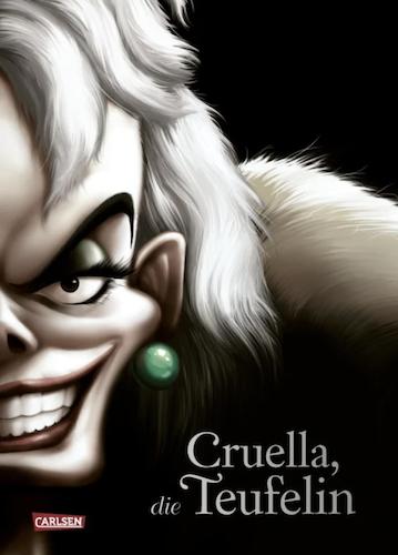 Buchcover Cruelle die Teufelin Disney Villains 2021 Band 7 101 Dalmatiner