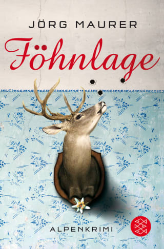 Buchcover Jörg Maurer Alpenkrimi Band 1 Kommissar Jennerwein Föhnlage