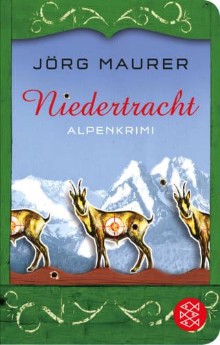 Buchcover Joerg Maurer Alpenkrimi Band Jennerwein 3 Niedertracht 2011