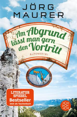 Buchcover Joerg Maurer Alpenkrimi Band Jennerwein 10 Am Abgrund lässt man gern den Vortritt 2018