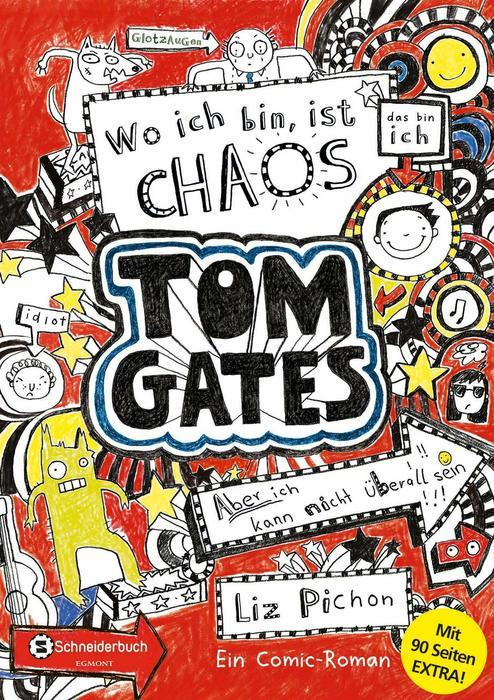 Buchcover Tom Gates band 1