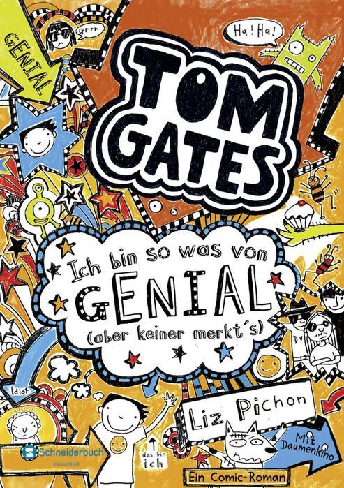 Buchcover Tom Gates Band 4 Liz Pichon
