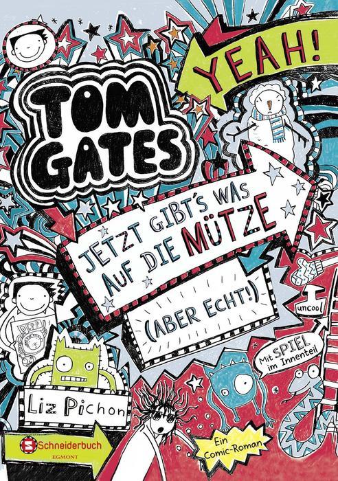 Buchcover Tom Gates Band 6 Liz Pichon