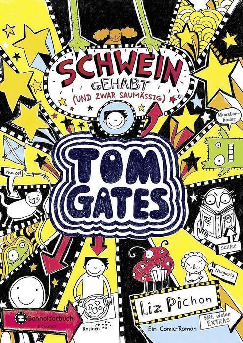 Buchcover Tom Gates Band 7 Liz Pichon
