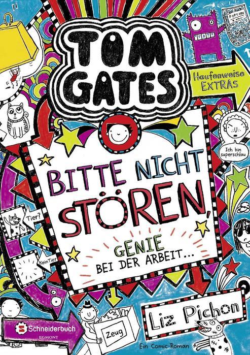 Buchcover Tom Gates Band 8 Liz Pichon