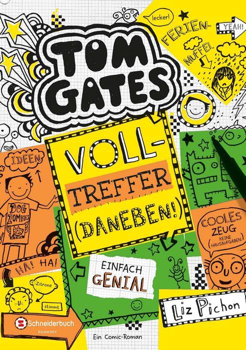 Buchcover Tom Gates Band 10 Liz Pichon