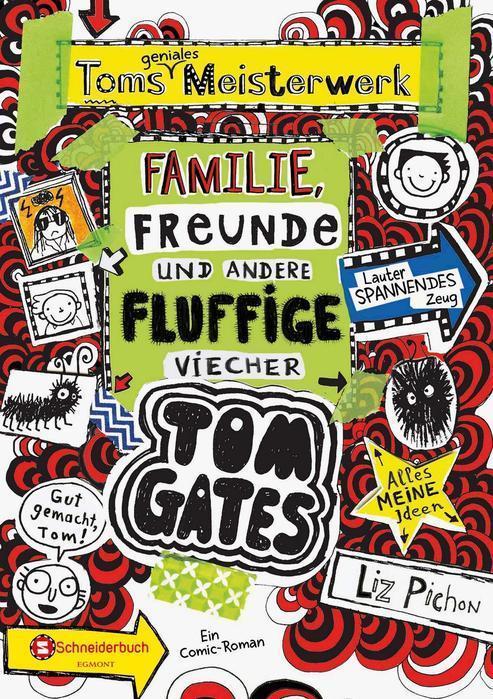 Buchcover Tom Gates Band 12 Liz Pichon