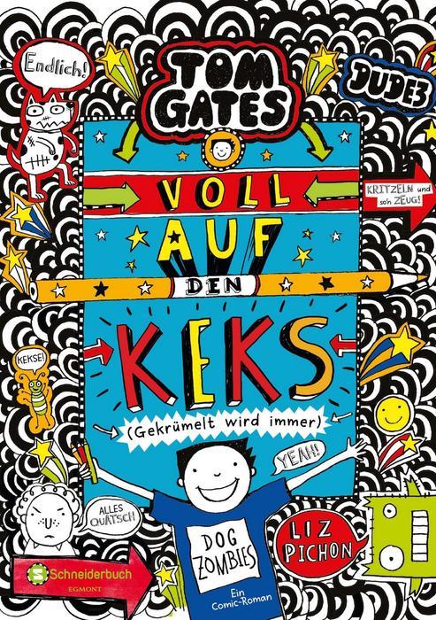 Buchcover Tom Gates Band 14 Voll auf den Keks