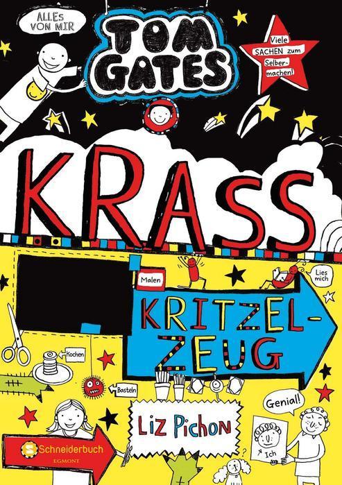 Buchcover Tom Gates Band 16 Krass Kritzelzeug Liz Pichon