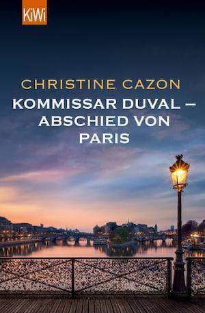 """Buchcover von """"Kommissar Duval - Abschied von Paris"""" die Vorgeschichte der Kommissar Duval Krimiserie"""