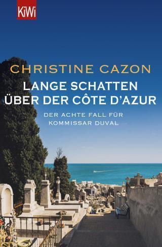 """Buchcover von """"Kommissar Duval - Lange Schatten über der Côte d´Azur"""" Band 8 der Kommissar Duval Krimiserie"""