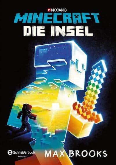 Buchcover Offizieller Minecraft Roman von Max Brooks Die Insel Band 1