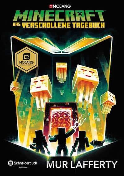 Buchcover Minecraft Roman Das verschollene Tagebuch Band 3